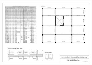 StruBIM Design. Despiece de vigas